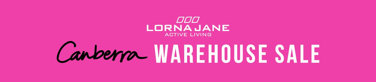 Don't miss out on the Lorna Jane Warehouse Sale!