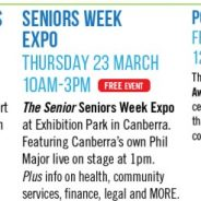 One big day out for seniors at the Seniors Week Expo